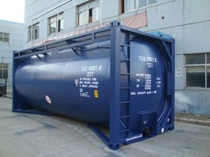 Diesel and Fuel Tank Containers Petrochem Industry Lubetainer